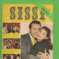 Tebeos: SISSI - Nº 39 - REVISTA FEMENINA - LA VIDA DE PIER ANGELI Y VIC DAMONE - BRUGUERA - (1958).. Lote 171787654