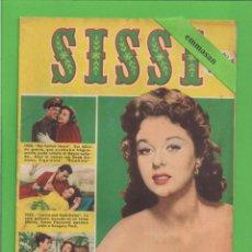 Tebeos: SISSI - Nº 95 - REVISTA FEMENINA - LA FULGURANTE VIDA DE SUSAN HAYWARD - BRUGUERA - (1959).. Lote 171788019