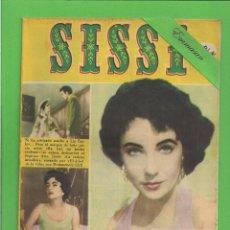 Tebeos: SISSI - Nº 96 - REVISTA FEMENINA - LA FULGURANTE VIDA DE LIZ TAYLOR - BRUGUERA - (1959).. Lote 171788194