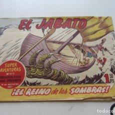 Tebeos: EL JABATO Nº 180. ¡EL REINO DE LAS SOMBRAS! SUPER AVENTURAS Nº 572 BRUGUERA ORIGINAL SDX20. Lote 171792849