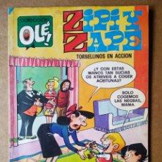Tebeos: ZIPI Y ZAPE: TORBELLINOS EN ACCIÓN. COLECCIÓN OLÉ! N°127 (BRUGUERA, 1985). POR JOSÉ ESCOBAR.. Lote 171800580