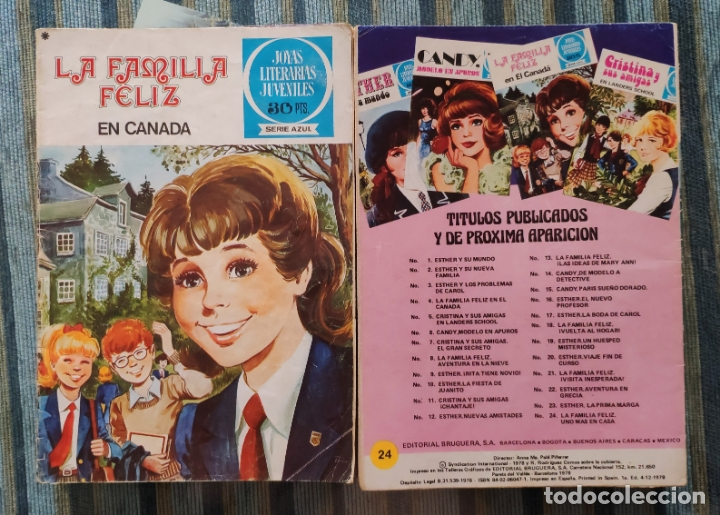 Tebeos: JOYAS LITERARIAS JUVENILES (SERIE AZUL) - LOTE CON 22 NUMEROS (BRUGUERA 1977) - Foto 2 - 171813285