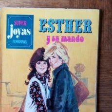Tebeos: ESTHER Y SU MUNDO - SUPER JOYAS FEMENINAS - CONTIENE ESTHER JOYAS LITERARIAS 16, 17 Y 19 - BRUGUERA . Lote 171878902