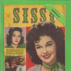 Tebeos: SISSI - Nº 92 - REVISTA FEMENINA - LA FULGURANTE VIDA DE SUSAN HAYWARD- BRUGUERA - (1959).. Lote 171977298
