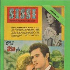 Tebeos: SISSI - Nº 186 - REVISTA FEMENINA - LA VIDA DE EMMA PENELLA - BRUGUERA - (1961).. Lote 171978290