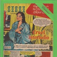 BDs: SISSI - Nº 3 - NOVELAS GRÁFICAS - CRUEL INTERLUDIO - BRUGUERA - (1959). AL DORSO PAUL NEWMAN.. Lote 171978555