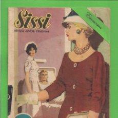 Tebeos: SISSI - Nº 137 - SELECCIÓN DE NOVELA GRÁFICA - VITAMINAS AL CORAZÓN - (1962). AL DORSO STEPHEN BOYD.. Lote 171986862
