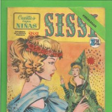Tebeos: SISSI - Nº 9 - CUENTO PARA NIÑAS - BRUGUERA - (1959). AL DORSO KATHARINE HEPBURN.. Lote 171989537