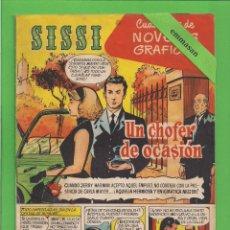 Tebeos: SISSI - Nº 12 - NOVELAS GRÁFICAS - UN CHOFER DE OCASIÓN - (1959). AL DORSO LAURENCE OLIVIER.. Lote 171994635