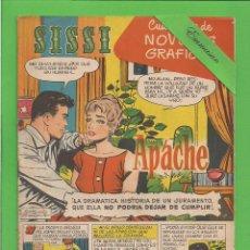 Tebeos: SISSI - Nº 14 - NOVELAS GRÁFICAS - APACHE - (1959). AL DORSO STERLING HAYDEN.. Lote 171996513