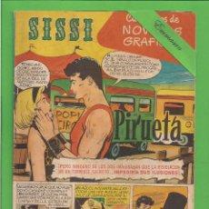 Tebeos: SISSI - Nº 16 - NOVELAS GRÁFICAS - PIRUETA - (1959). AL DORSO GREGORY PECK.. Lote 171997795