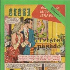 Tebeos: SISSI - Nº 22 - NOVELAS GRÁFICAS - TRISTE PASADO - (1959). AL DORSO RICHARD BURTON.. Lote 171999682