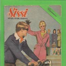 Tebeos: SISSI - Nº 115 - SELECCIÓN DE NOVELAS GRÁFICAS - PASO A LA JUVENTUD - (1961). AL DORSO PETER FINCH.. Lote 172003924