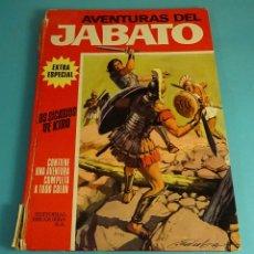 Tebeos: LOS SICARIOS DE KIRO. AVENTURAS DEL JABATO. EXTRA ESPECIAL CUBIERTA ROJA. Lote 172062852