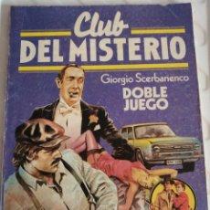 Tebeos: CLUB DEL MISTERIO. DOBLE JUEGO. BRUGUERA. 128. Lote 172097089