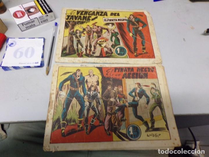 NUMERO 5 PIRATA NEGRO ORIGINALES BRUGUERA (Tebeos y Comics - Bruguera - Otros)