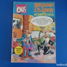 Tebeos: COMIC DE OLE MORTADELO Y FILEMON CON EL BOTONES SACARINO Nº 194 AÑO 1982 DE BRUGUERA LOTE 22 . Lote 172212908