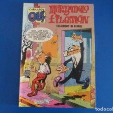 Tebeos: COMIC DE OLE MORTADELO Y FILEMON VACACIONES DE PERROS Nº 120 AÑO 1981 DE BRUGUERA LOTE 22. Lote 172213765