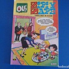 Tebeos: COMIC DE OLEZIPI Y ZAPE TORBELLINOS EN ACCION Nº 127 AÑO 1990 DE BRUGUERA LOTE 22. Lote 172214972