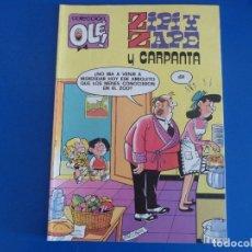 Tebeos: COMIC DE OLEZIPI Y ZAPE Y CARPANTA Nº 125 AÑO 1992 DE BRUGUERA LOTE 22. Lote 172215070