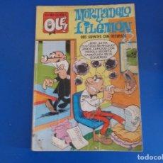 Tebeos: COMIC DE MORTADELO Y FILEMON DOS AGENTES CON RECURSOS Nº 18 AÑO 1975 DE BRUGUERA LOTE 22. Lote 172217245