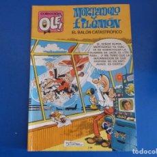 Tebeos: COMIC DE MORTADELO Y FILEMON EL BALON CATASTROFICO Nº 256 AÑO 1987 DE BRUGUERA LOTE 22. Lote 172218043