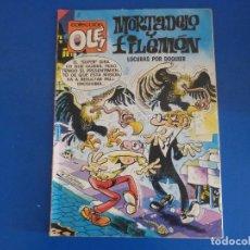 Tebeos: COMIC DE MORTADELO Y FILEMON LOCURAS POR DOQUIER Nº 255 AÑO 1992 DE BRUGUERA LOTE 22. Lote 172218125