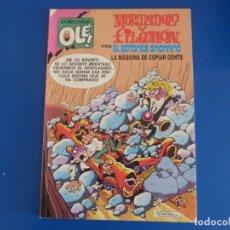 Tebeos: COMIC DE MORTADELO Y FILEMON CON EL BOTONES SACARINO LA MAQUINA DE COPIAR GENTE Nº 245 AÑO 1992 L.22. Lote 172218615