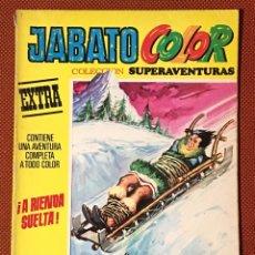 Tebeos: JABATO COLOR EXTRA - NÚMERO 46 - A RIENDA SUELTA - PRIMERA ÉPOCA. Lote 172255022