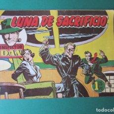 Tebeos: INSPECTOR DAN (1951, BRUGUERA) 35 · 1952 · LUNA DE SACRIFICIO. Lote 172349247