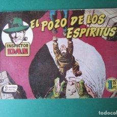 Tebeos: INSPECTOR DAN (1951, BRUGUERA) 37 · 1953 · EL POZO DE LOS ESPÍRITUS. Lote 172350108