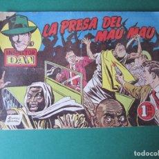 Tebeos: INSPECTOR DAN (1951, BRUGUERA) 41 · 1953 · LA PRESA DEL MAU MAU. Lote 172350714