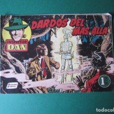 Tebeos: NSPECTOR DAN (1951, BRUGUERA) 42 · 1953 · DARDOS DEL MÁS ALLA. Lote 172364010