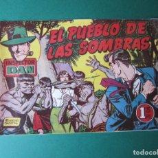 Tebeos: INSPECTOR DAN (1951, BRUGUERA) 45 · 1953 · EL PUEBLO DE LAS SOMBRAS. Lote 172364214