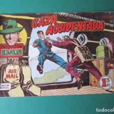 Tebeos: INSPECTOR DAN (1951, BRUGUERA) 50 · 1953 · CAZA ACCIDENTADA. Lote 172364807