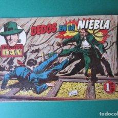 Tebeos: INSPECTOR DAN (1951, BRUGUERA) 70 · 1954 · DEDOS EN LA NIEBLA. Lote 172366700