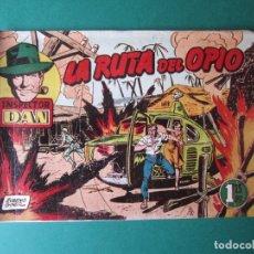 Tebeos: INSPECTOR DAN (1951, BRUGUERA) 66 · 1954 · LA RUTA DEL OPIO. Lote 172367970