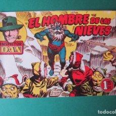 Tebeos: INSPECTOR DAN (1951, BRUGUERA) 68 · 1954 · EL HOMBRE DE LAS NIEVES. Lote 172368657