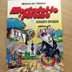 Tebeos: MORTADEL·LO I FILEMÓ. CONCURS-OPOSICIÓ. EDICIONES B. 1989. 9. 46 PÁGINAS. BUEN ESTADO. 30X21,5X1 CM.. Lote 172416208