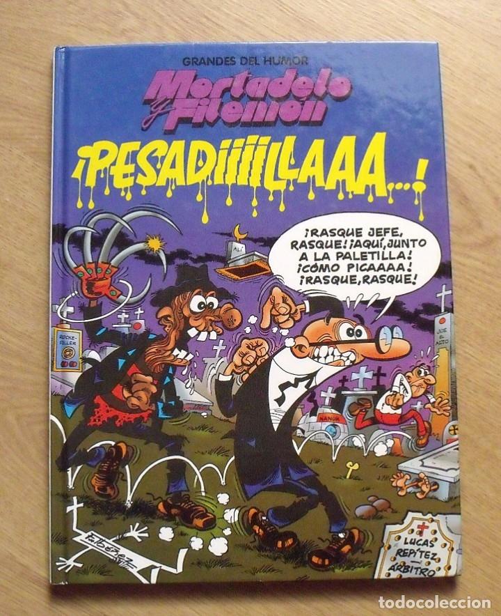 MORTADELO Y FILEMÓN. PESADILLA. EL PERIÓDICO. 1996. 46 PÁGINAS. 30X21,5X1 CM. (Tebeos y Comics - Bruguera - Mortadelo)