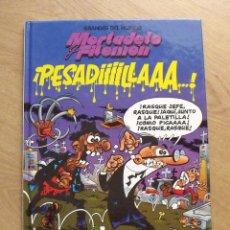 Tebeos: MORTADELO Y FILEMÓN. PESADILLA. EL PERIÓDICO. 1996. 46 PÁGINAS. 30X21,5X1 CM.. Lote 172416634
