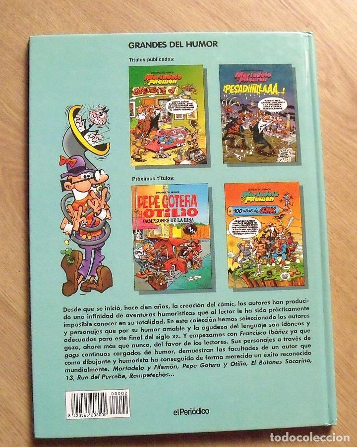 Tebeos: Mortadelo y Filemón. Pesadilla. El Periódico. 1996. 46 páginas. 30x21,5x1 cm. - Foto 2 - 172416634