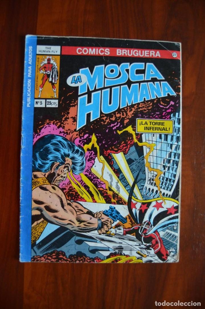 MOSCA HUMANA 5 (Tebeos y Comics - Bruguera - Otros)