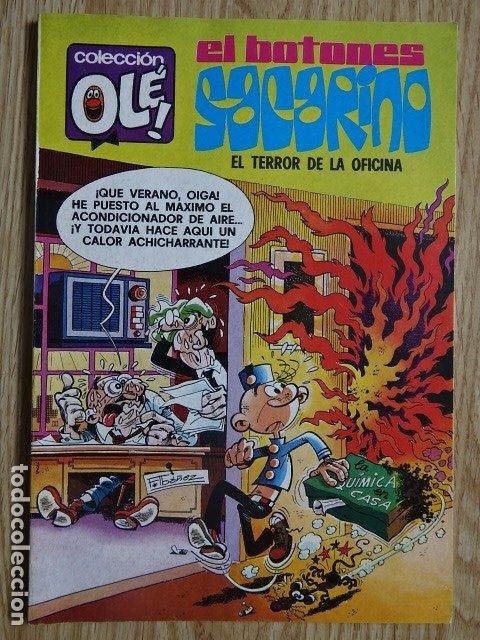 EL BOTONES SACARINO Nº 132 EL TERROR DE LA OFICINA COLECCIÓN OLÉ ! ED. BRUGUERA 1981 3ª EDICION (Tebeos y Comics - Bruguera - Ole)