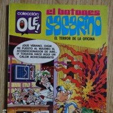 Tebeos: EL BOTONES SACARINO Nº 132 EL TERROR DE LA OFICINA COLECCIÓN OLÉ ! ED. BRUGUERA 1981 3ª EDICION. Lote 172685269