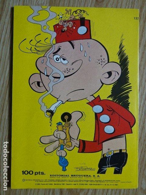 Tebeos: EL BOTONES SACARINO nº 132 El terror de la oficina Colección Olé ! Ed. Bruguera 1981 3ª edicion - Foto 2 - 172685269