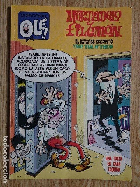 COLECCIÓN OLÉ! MORTADELO Y FILEMÓN BOTONES SACARINO SIR TIM O`THEO BRUGUERA Nº 179 1ª EDICIÓN 1979 (Tebeos y Comics - Bruguera - Ole)