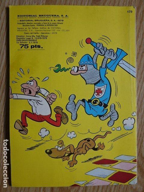 Tebeos: COLECCIÓN OLÉ! MORTADELO Y FILEMÓN Botones Sacarino Sir Tim O`Theo BRUGUERA Nº 179 1ª EDICIÓN 1979 - Foto 2 - 172685690