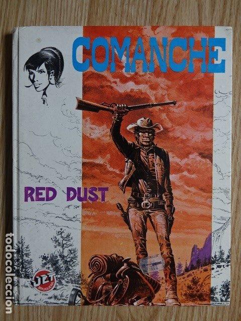 COMANCHE RED DUST JET BRUGUERA NO. 4 HERMANN GREG AÑO 1983 1ª EDICIÓN (Tebeos y Comics - Bruguera - Otros)