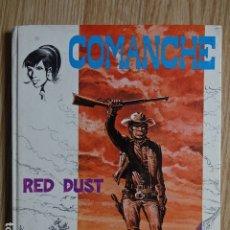 Tebeos: COMANCHE RED DUST JET BRUGUERA NO. 4 HERMANN GREG AÑO 1983 1ª EDICIÓN. Lote 172686178